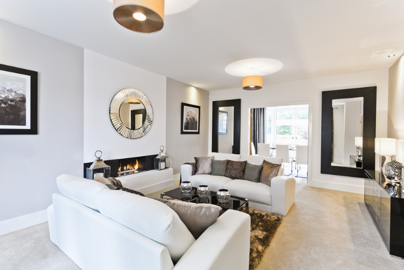 Wentwood show home at briarswood colwyn heights ravenscroft homes - Show the home photos ...