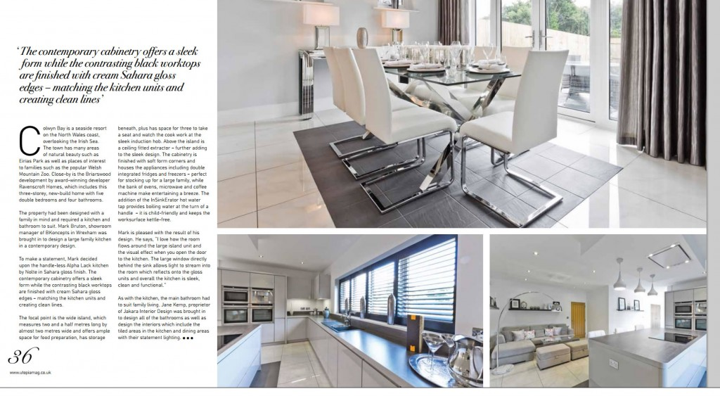 Most Beautiful Modern Kitchens Ravenscroft Show Home ...